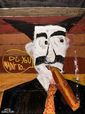 Giclée – Groucho