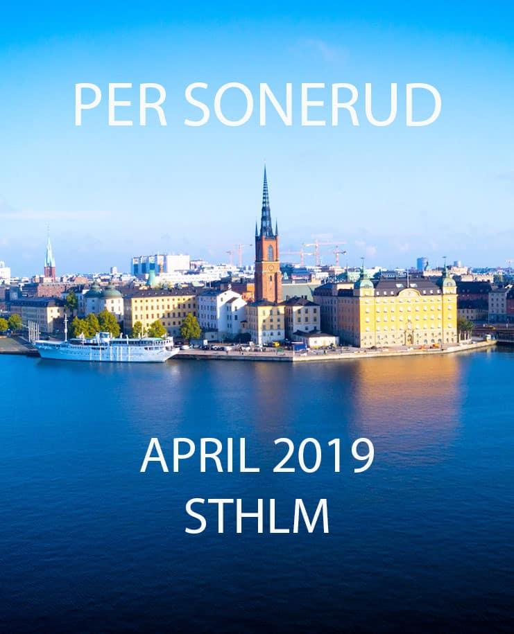 APRIL 2019 STHLM