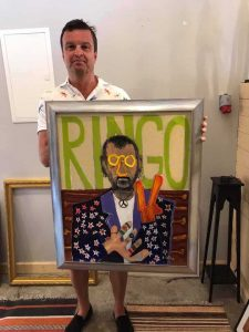 Ringo Starr (Oil on canvas)
